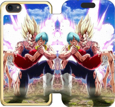 Wallet Case Vegeta And Bulma for Iphone 7 / Iphone 8