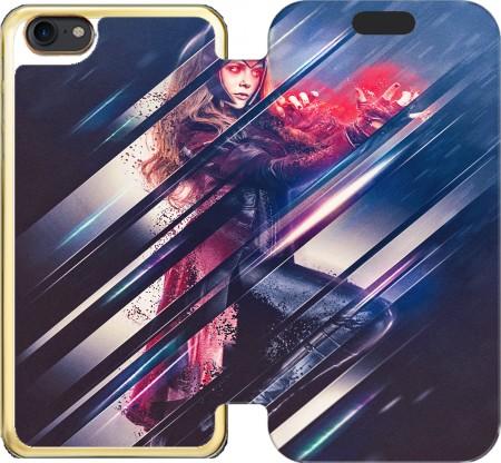 Wallet Case Wanda maximoff witch for Iphone 7 / Iphone 8