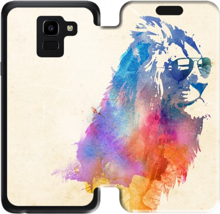 Wallet Case Sunny Leo for Samsung Galaxy J6 2018