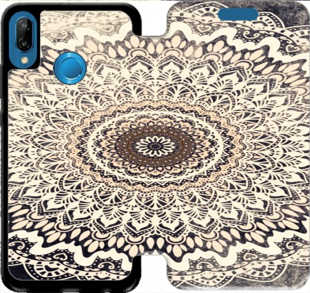 Wallet Case Boho Autumn Mandala for Huawei P20 Lite / Nova 3e