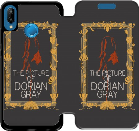 Wallet Case BOOKS collection: Dorian Gray for Huawei P20 Lite