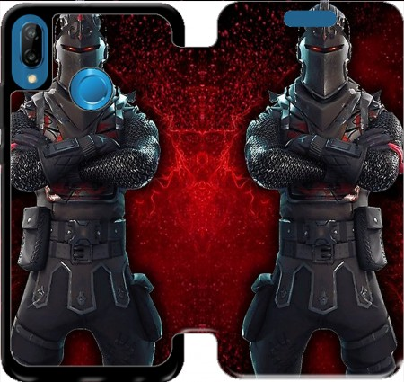 Wallet Case Black Knight Fortnite for Huawei P20 Lite / Nova 3e