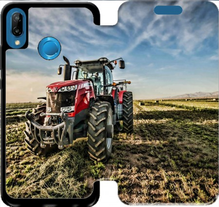 Wallet Case Massey Fergusson Tractor for Huawei P20 Lite / Nova 3e