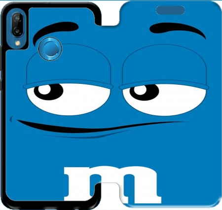 Wallet Case M&M's Blue for Huawei P20 Lite