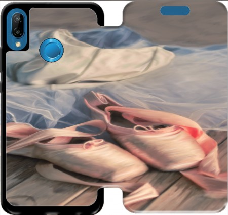 Wallet Case Painting ballet shoes and jersey for Huawei P20 Lite / Nova 3e