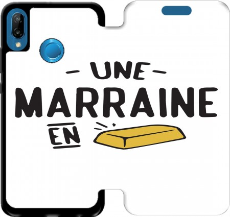 Wallet Case Une marraine en or for Huawei P20 Lite / Nova 3e