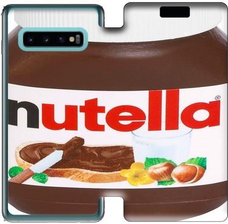 Wallet Case Nutella for Samsung Galaxy S10