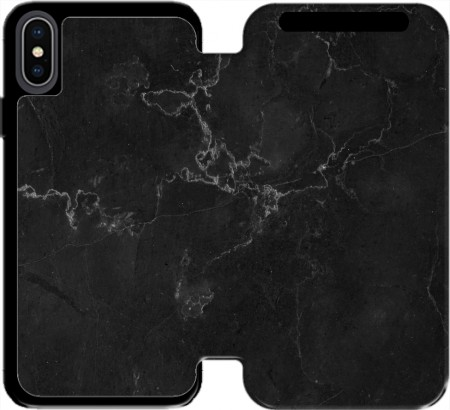 Wallet Case Black Marble for Iphone Xs Max