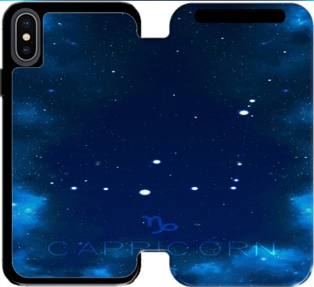 Wallet Case Constellations of the Zodiac: Capricorn for Iphone Xs Max