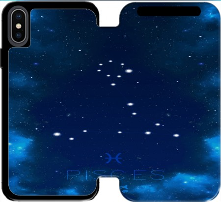 Wallet Case Constellations of the Zodiac: Pisces for Iphone Xs Max