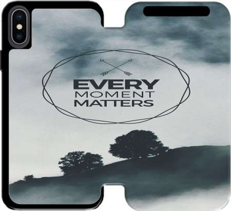Wallet Case Every Moment Matters for Iphone Xs Max