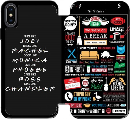 Wallet Case Friends for Iphone Xs Max