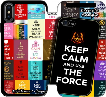 Wallet Case Keep Calm And Use the Force for Iphone Xs Max