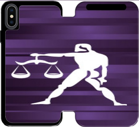 Wallet Case Libra - Sign of the zodiac for Iphone Xs Max