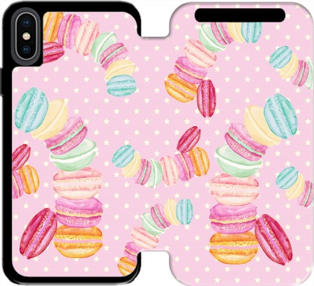 Wallet Case MACARONS for Iphone Xs Max