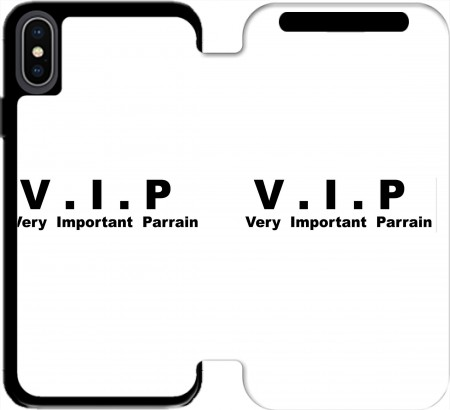 Wallet Case VIP Very important parrain for Iphone Xs Max