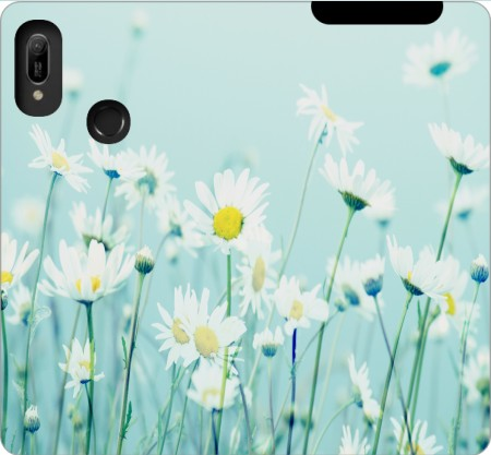 Wallet Case Dancing Daisies for Huawei Y6 2019