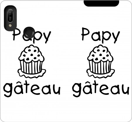 Wallet Case Papy gateau for Huawei Y6 2019