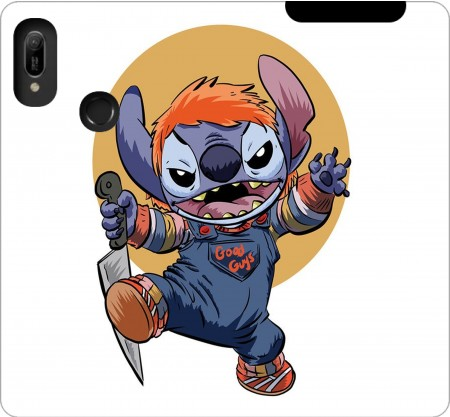 Wallet Case Stitch X Chucky Halloween for Huawei Y6 2019