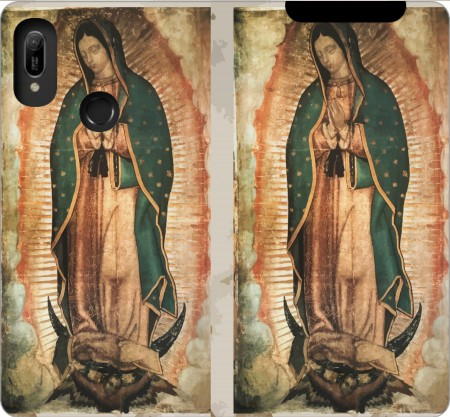 Wallet Case Virgen Guadalupe for Huawei Y6 2019
