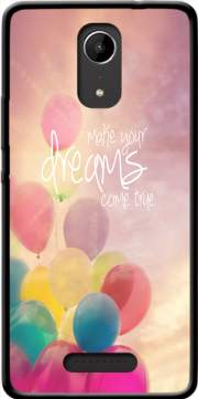 make your dreams come true Case for Wiko Tommy 2
