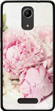 peonies on white Case for Wiko Tommy 2