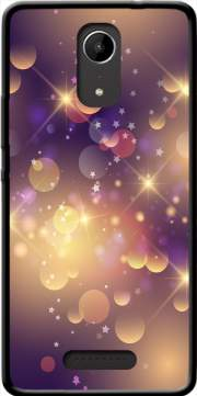 Purple Sparkles Case for Wiko Tommy 2