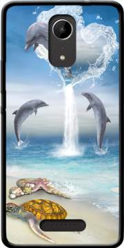 The Heart Of The Dolphins Case for Wiko Tommy 2