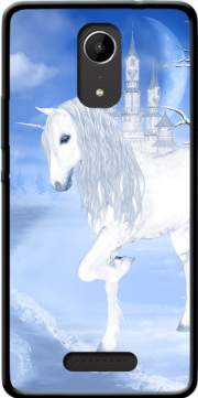 The White Unicorn Case for Wiko Tommy 2