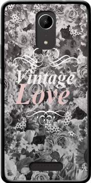 Vintage love in black and white Case for Wiko Tommy 2