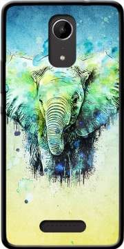 watercolor elephant Case for Wiko Tommy 2