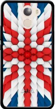 3D Poly Union Jack London flag Case for Wileyfox Swift 2x
