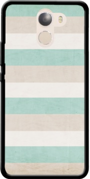 aqua and sand stripes Case for Wileyfox Swift 2x
