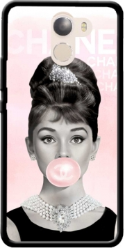 Audrey Hepburn bubblegum Wileyfox Swift 2x Case
