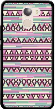 Aztec Pink And Mint Case for Wileyfox Swift 2x