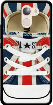 All Star Basket shoes Union Jack London Case for Wileyfox Swift 2x