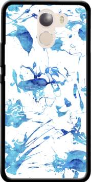 Blue Splash Case for Wileyfox Swift 2x