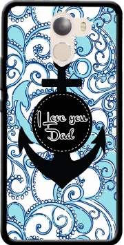Blue Water - I love you Dad Case for Wileyfox Swift 2x