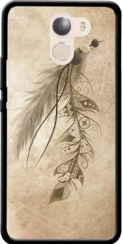 Boho Feather Case for Wileyfox Swift 2x