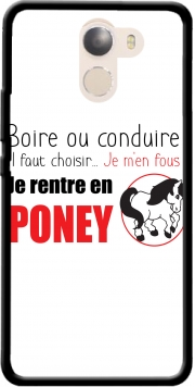 Boire ou conduire Je men fous je rentre en Poney Wileyfox Swift 2x Case