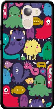 Colorful Creatures Case for Wileyfox Swift 2x