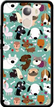 Dogs Case for Wileyfox Swift 2x
