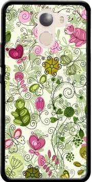 doodle flowers Case for Wileyfox Swift 2x
