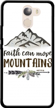 Faith can move montains Matt 17v20 Bible Blessed Art Wileyfox Swift 2x Case