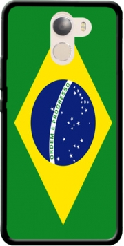 Flag Brasil Case for Wileyfox Swift 2x
