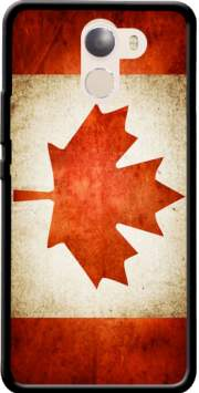 Canadian Flag Vintage Case for Wileyfox Swift 2x