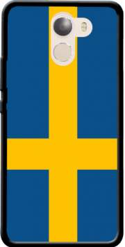 Flag Sweden Case for Wileyfox Swift 2x