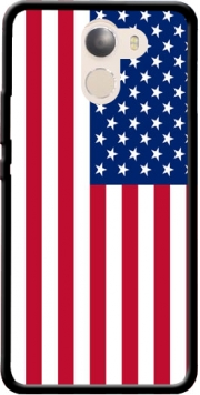 Flag United States Case for Wileyfox Swift 2x