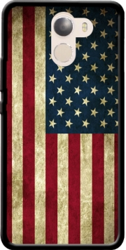 Flag USA Vintage Case for Wileyfox Swift 2x