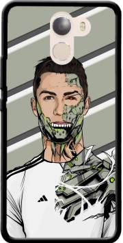 Football Legends: Cristiano Ronaldo - Real Madrid Robot Case for Wileyfox Swift 2x